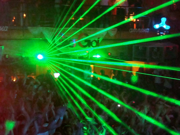 Ibiza lights up