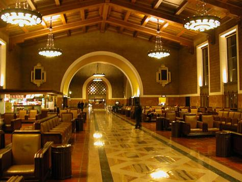 how to get from lax to union station amtrak