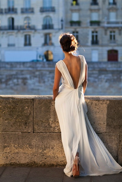 Gorgeous backless dress